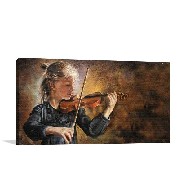 Violinist Artwork