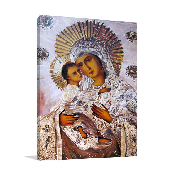 Virgin Mary With Baby Jesus Artwork