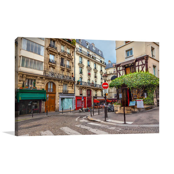 Walk with me in Streets of Paris Art Prints