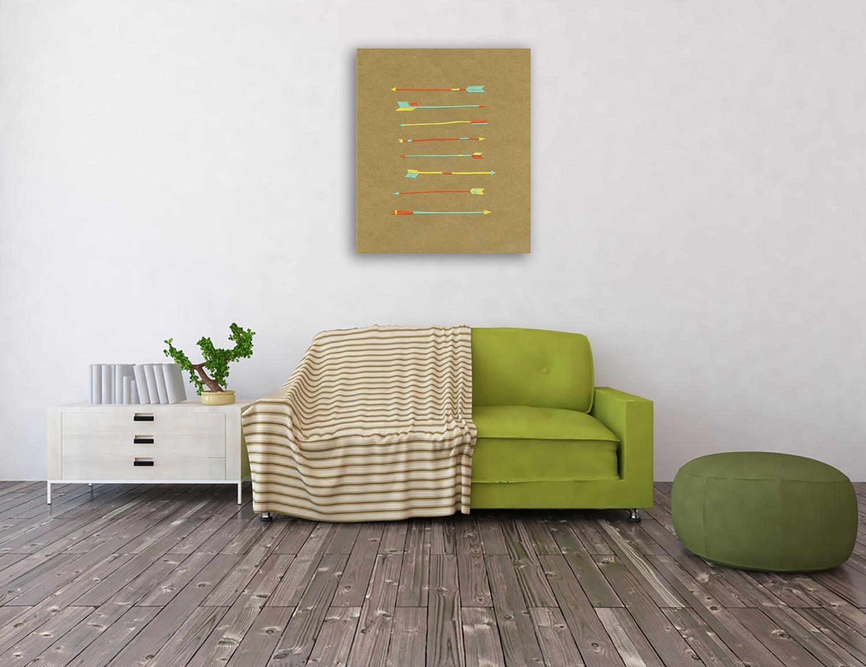 Online Australia Home Wall Print