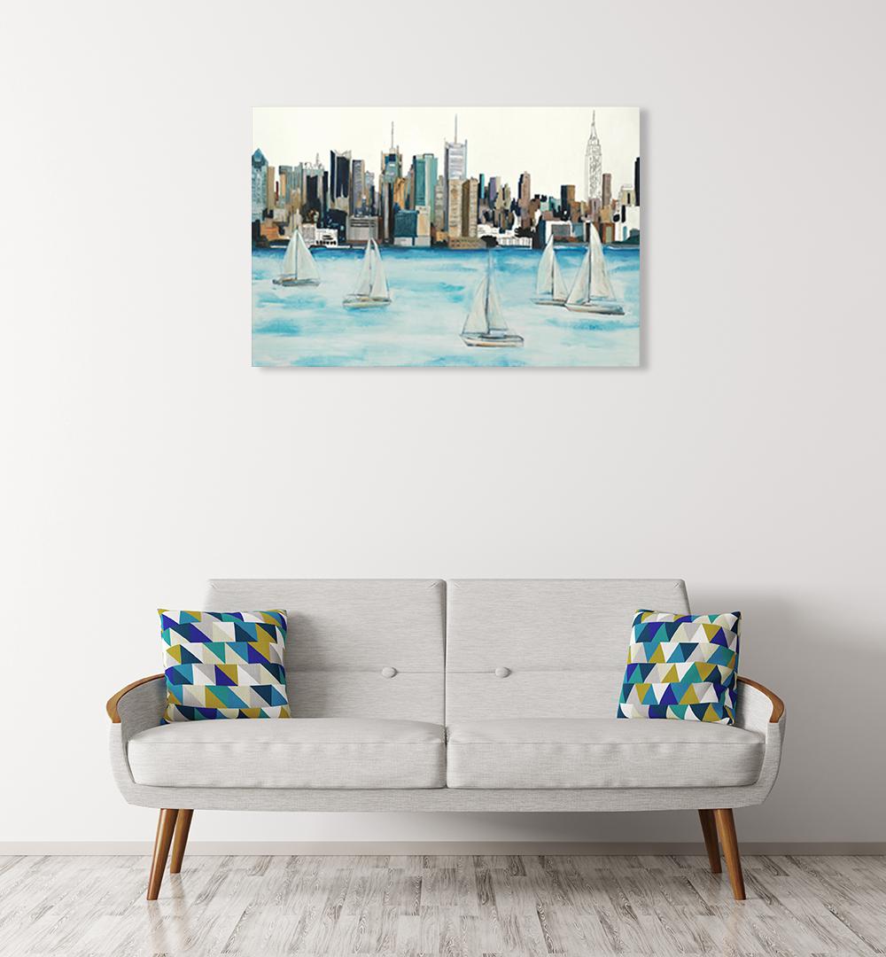 Online Beach Home Art Print