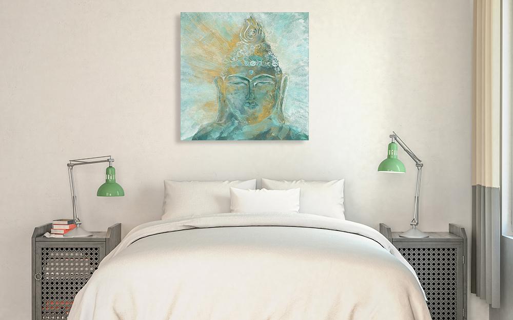 Spiritual Bedroom Canvas Print