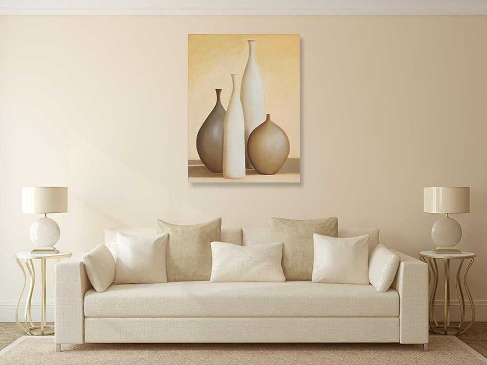 Home Portrait Wall Print Canvas