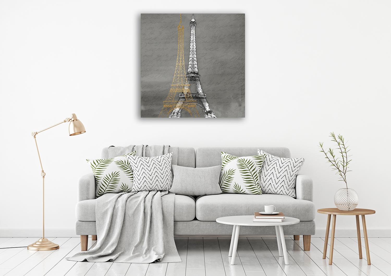 Paris At Night Wall Art Print