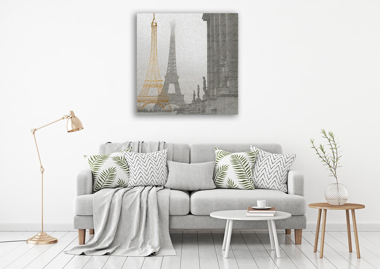 Paris France Wall Print Canvas