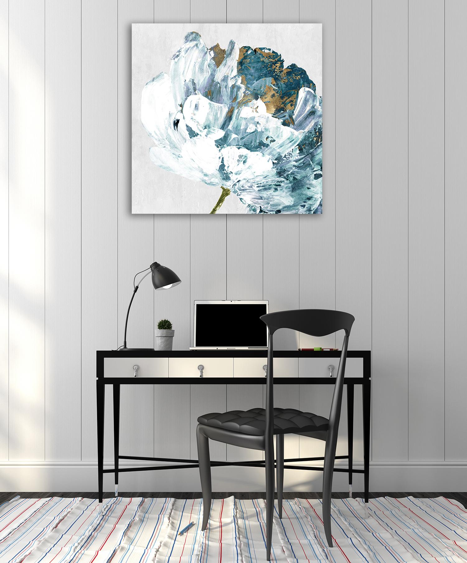 Blue Flower Canvas Print Online