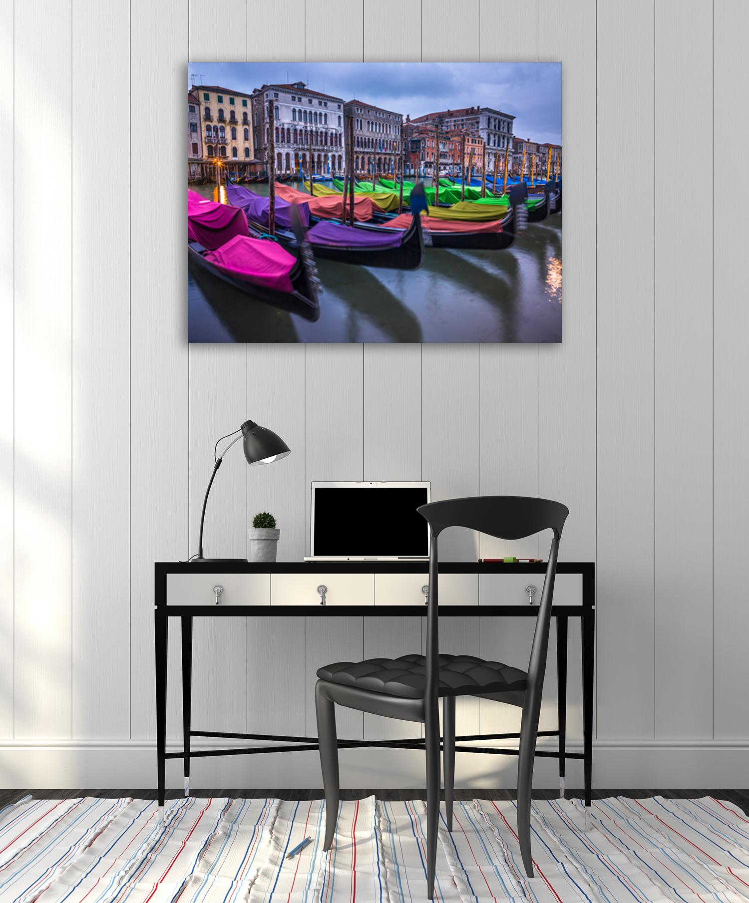 Mixed Colours Wall Canvas Print