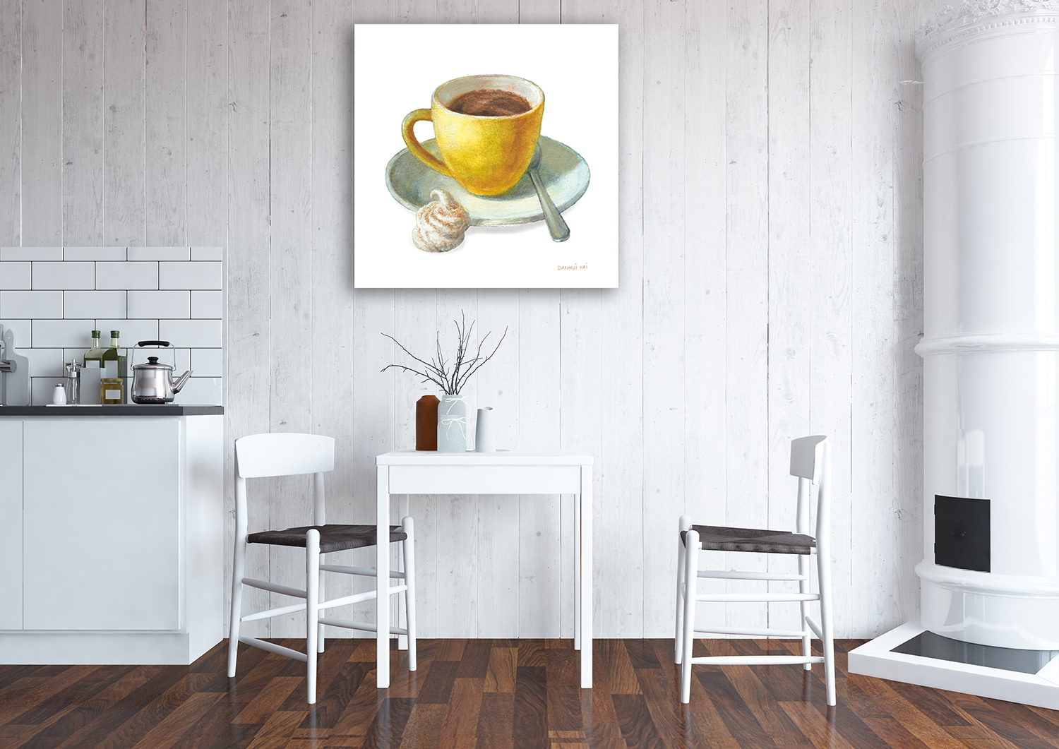 Dining Room Print on Canvas
