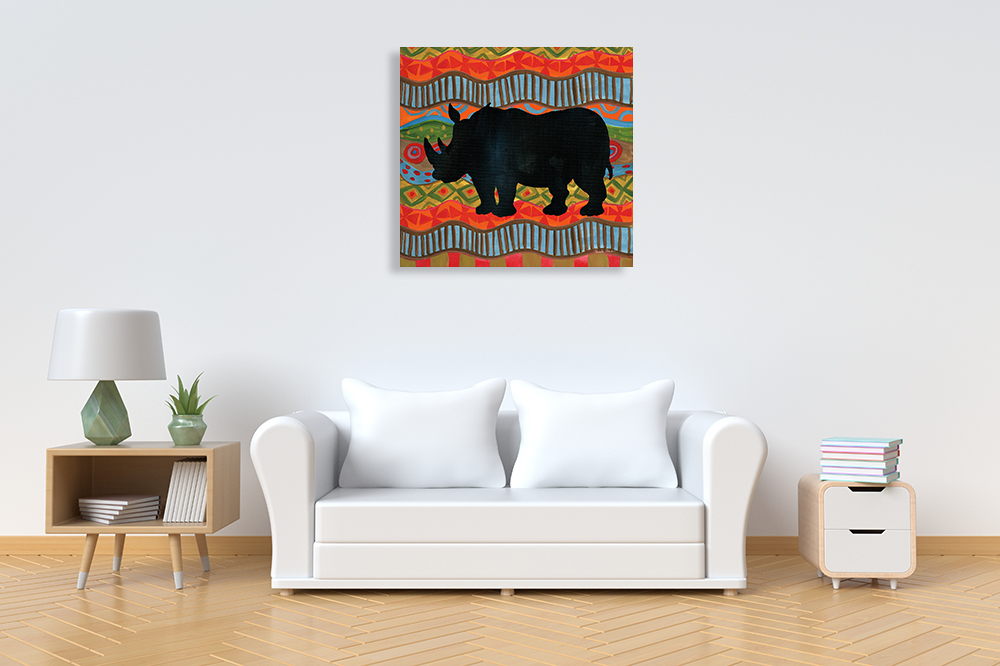African Wall Art on Print