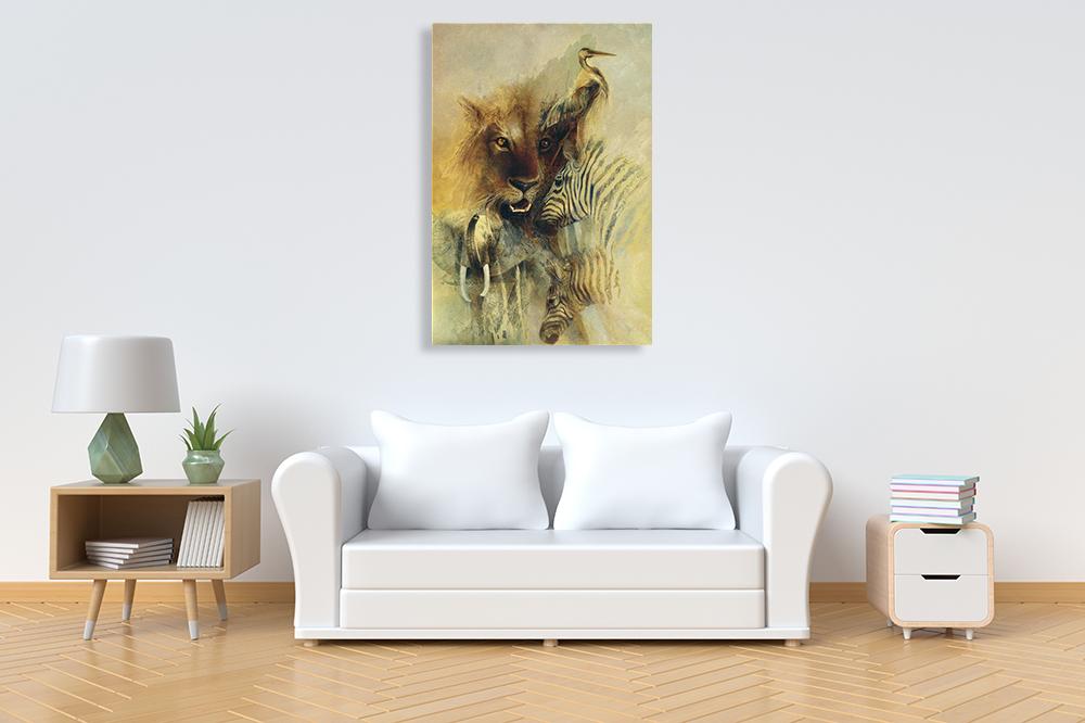 Animal Wall Art on Canvas