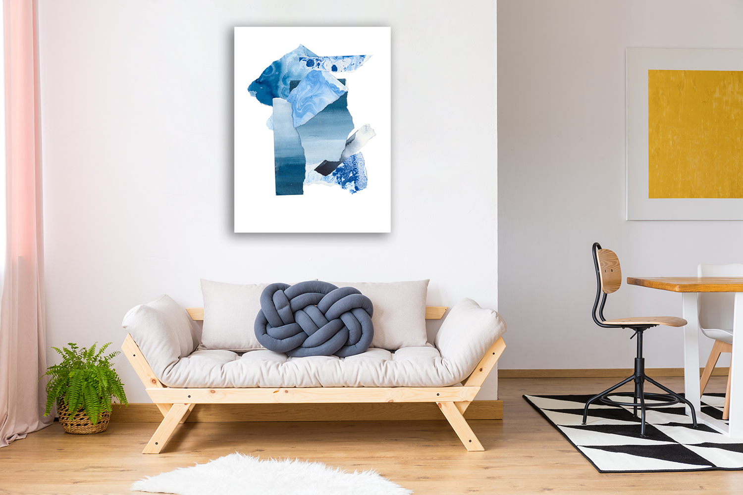 Abstract Portrait Wall Art on Canvas