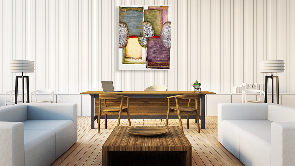 Contemporary Wall Art on Canvas