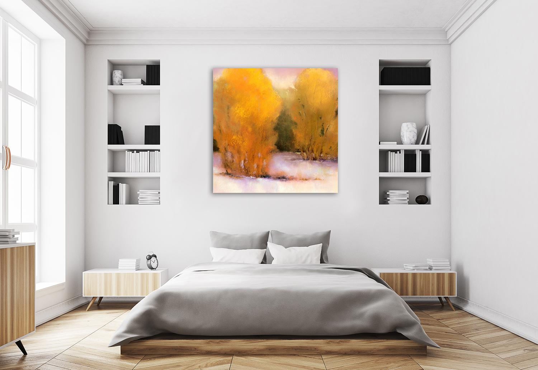 Square Impressionist Wall Art Print