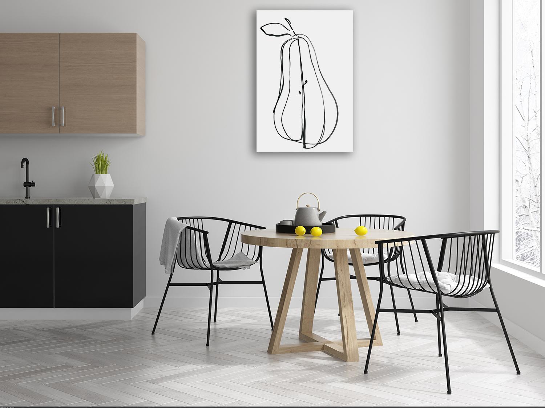 Online Kitchen Print on Canvas