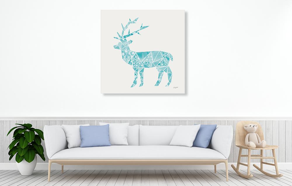 Animal Wall Art Print on Canvas