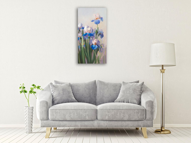 Panoramic Floral Wall Print