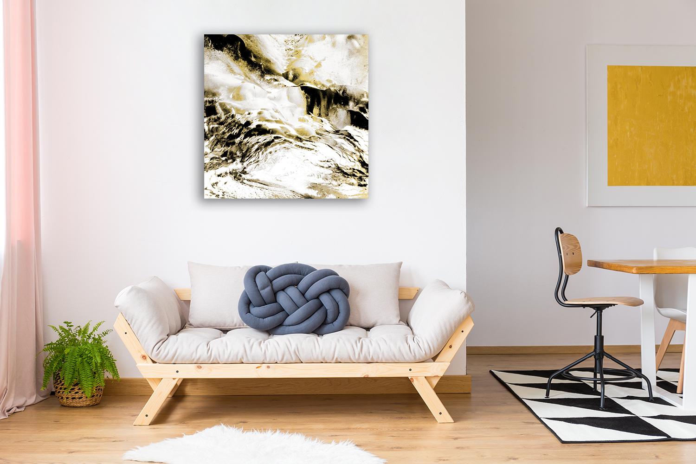 Square Abstract Wall Art Print