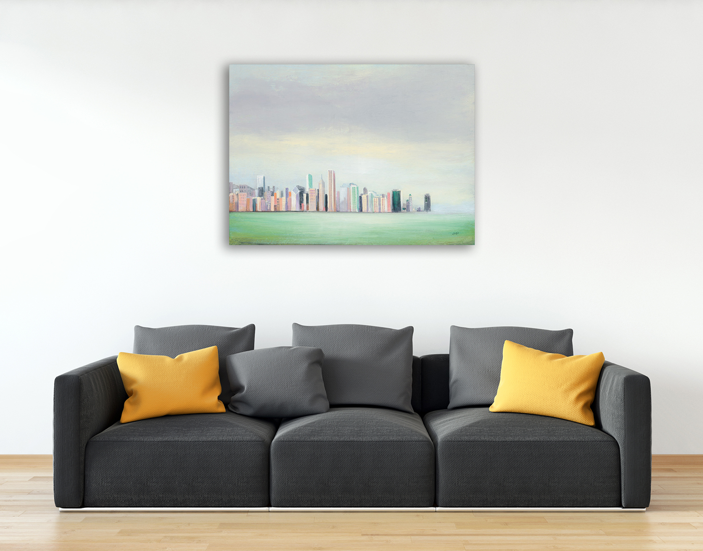 Landscape Wall Art Print on Canvas