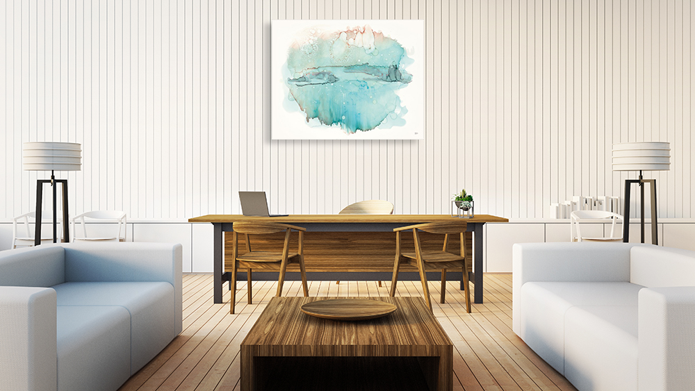 Landscape All Wash Wall Art Print on Canvas