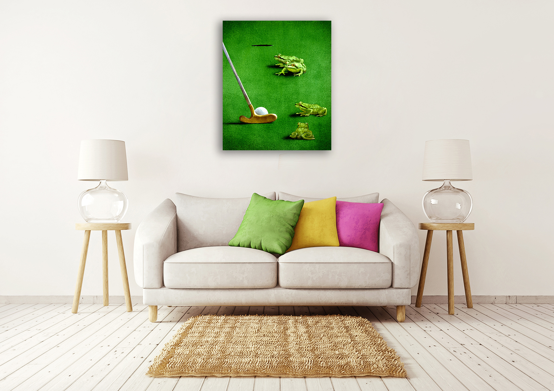 Home Wall Canvas Print