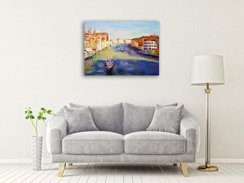 Venice Wall Art on Canvas