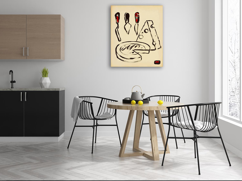 Australia Online Canvas Print