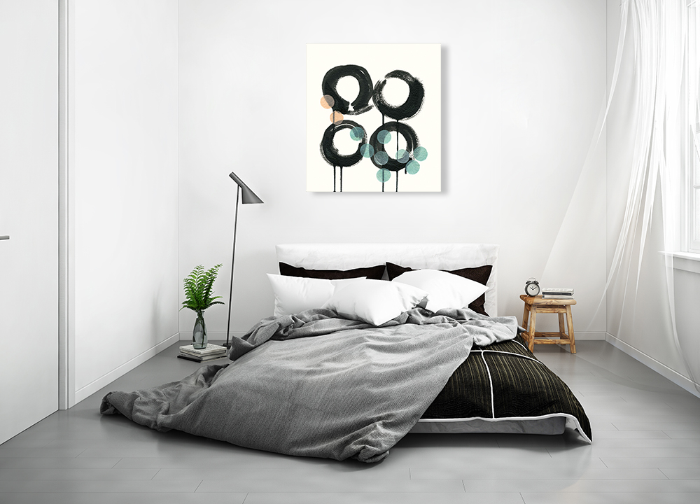 Square Contemporary Wall Art Print