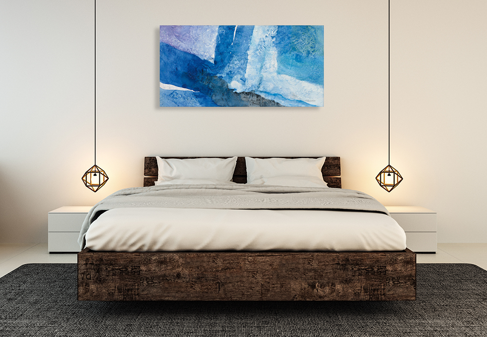 Bedroom Canvas Wall Art Print