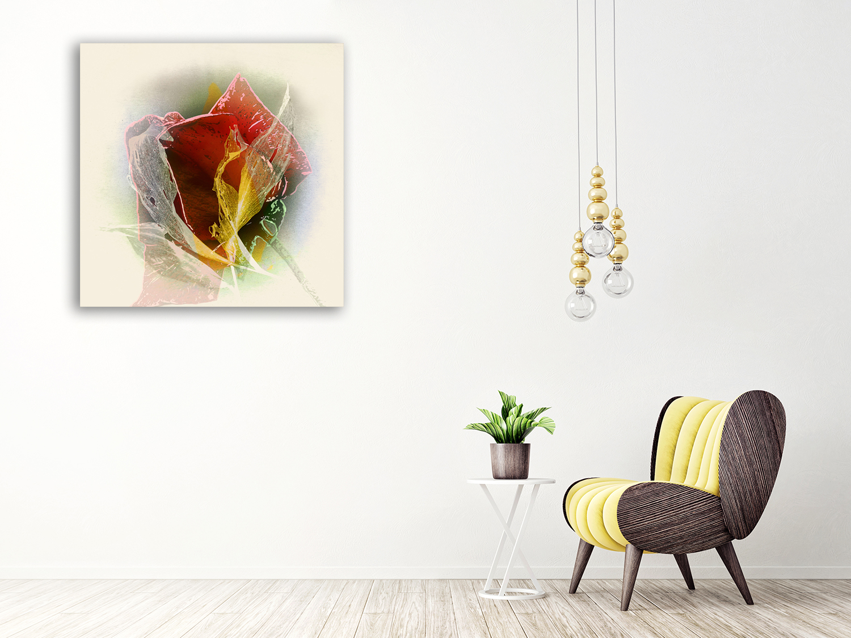 Australia Online Floral Canvas Print