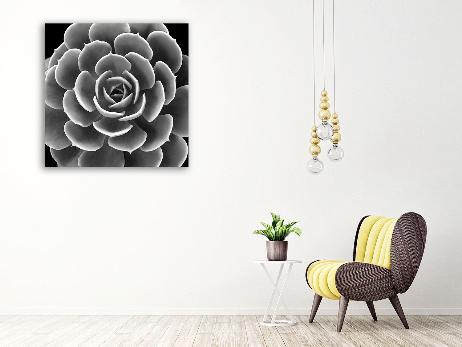 Floral Print Wall Home Online