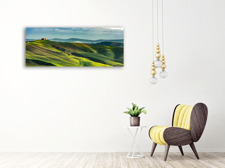 Green Panoramic Home Print