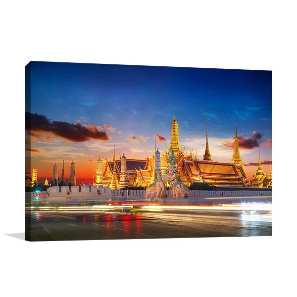 Wat Phra Kaew Thailand Wall Art Print
