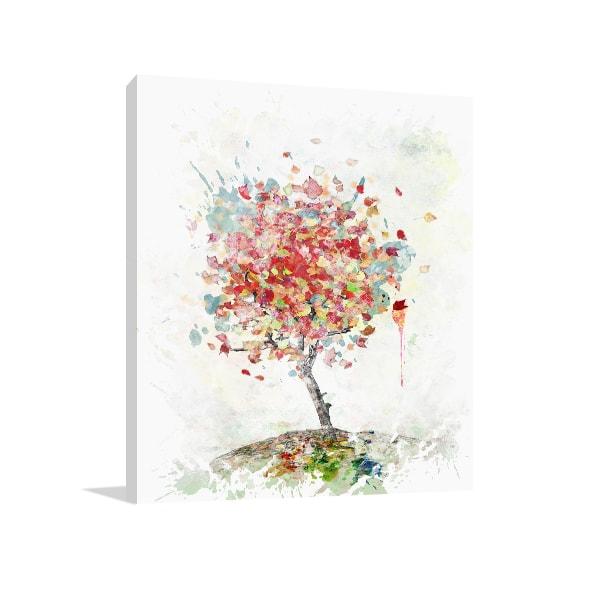Watercolor Autumn Art Prints