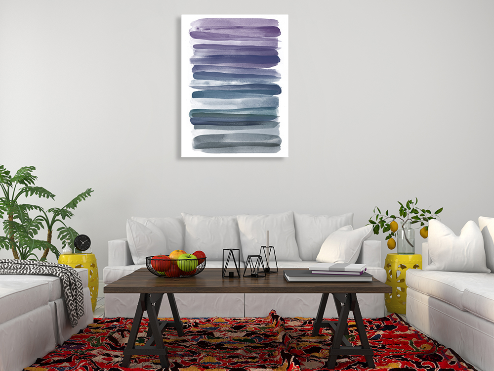 Abstract Modern Canvas Art Print