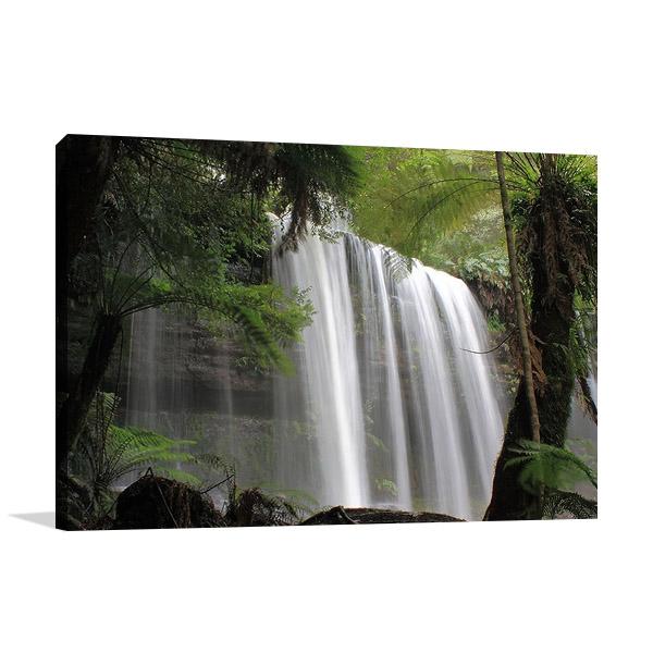 Waterfall Tasmania Australia Wall Print