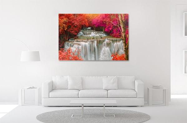 Waterfalls Jungle Canvas Prints