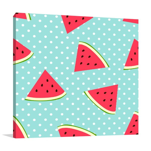 Watermelon Canvas Art Prints