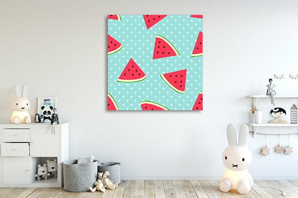 Watermelon Canvas Prints