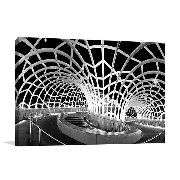 Webb Bridge Melbourne Print