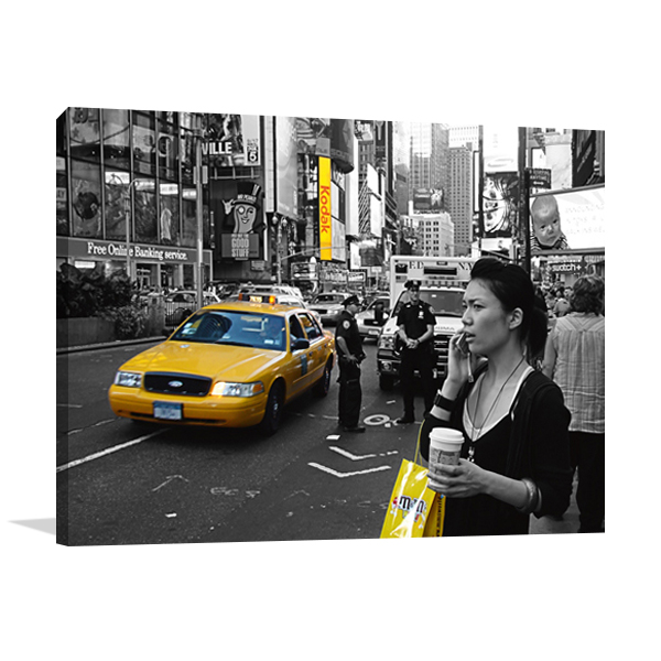 Welcome to New York Wall Art Print