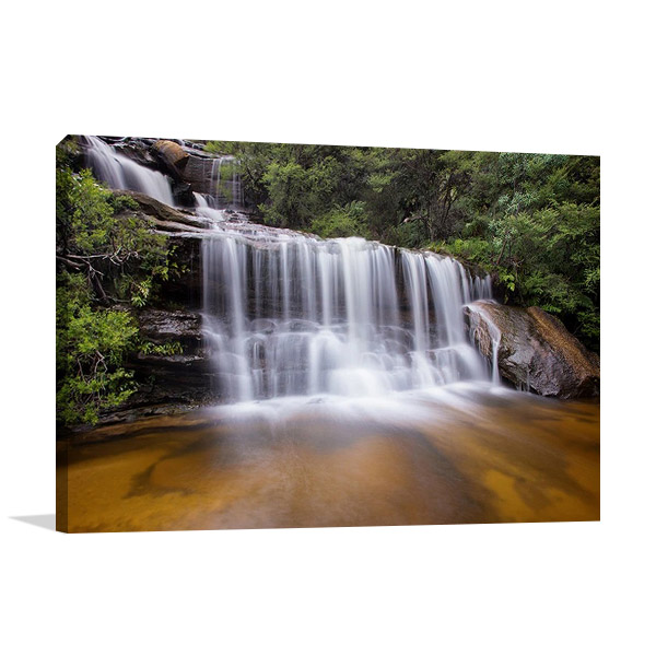 Wentworth Falls Australia Canvas Print