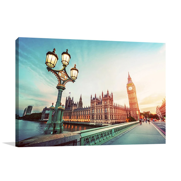 Westminster Bridge London Print