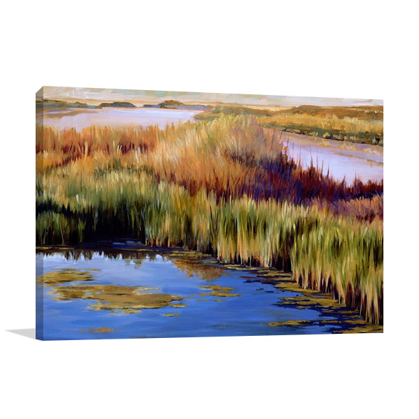 Wetlands Wall Canvas Wall Print