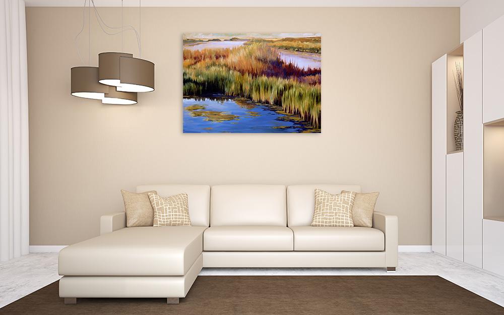 Impressionist Landscape Art Print