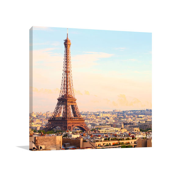 When in Paris Canvas Art Prints