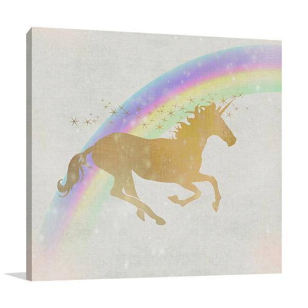 Whimsical Unicorn Wall Art Print