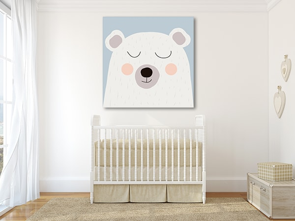 White Bear Print Artwork