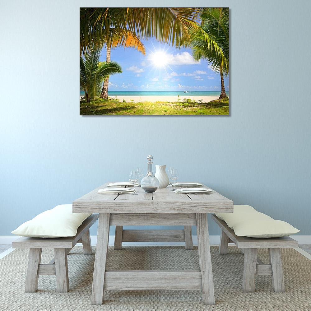 Art Print Canvas Tropical Seascape