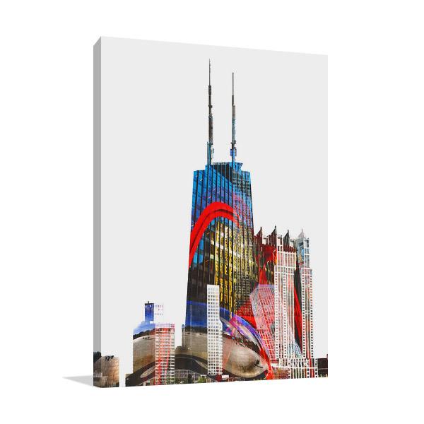 Willis Tower Chicago Canvas Print