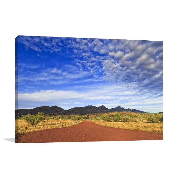 Wilpena Pound Wall Art Print Flinders Ranges